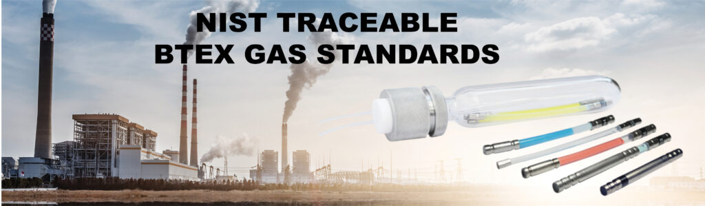 NIST Traceable BTEX Gas Standards