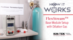 How It Works: FlexStream Dilution Gas Setup